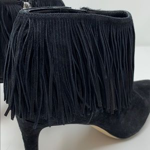 Sam Edelman Shoes - Sam Edelman pointed toe booties with fringe